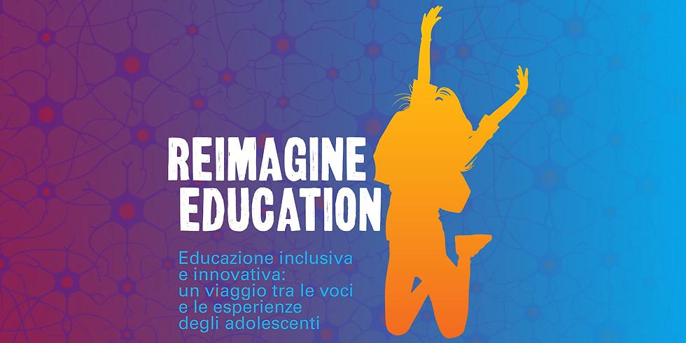 """ACTIVATE TALK """"REIMAGINE EDUCATION"""""""