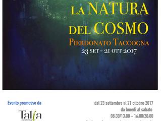 """""""La natura del cosmo"""", l'incontro tra l'uomo e l'Universo nell'arte di Pierdonato Taccogna"""