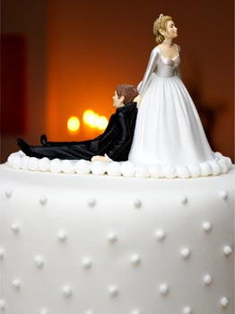 Bolo para casamento