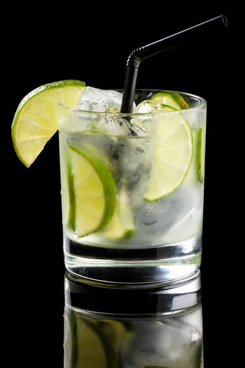 Drink Caipirinha de limão
