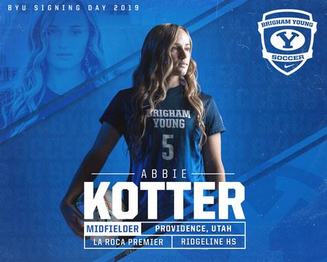 Abbie Kotter Signed