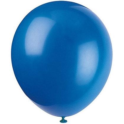 10 בלוני פסטל כחול