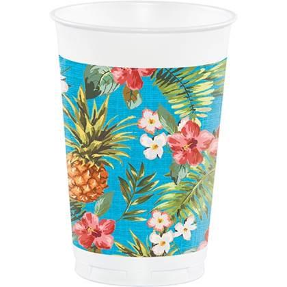 כוסות גדולות הוואי 8 יח'