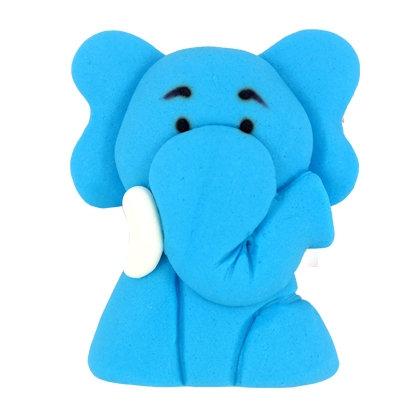 פיל כחול מבצק סוכר