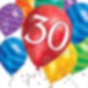 יום הולדת 30 מושלמת! אצלנו תמצאו צלחות יום הולדת 30, כוסות יום הולדת 30, מפיות יום הולדת 30, מפת שולחן יום הולדת 30 ועוד המון דברים שווים!