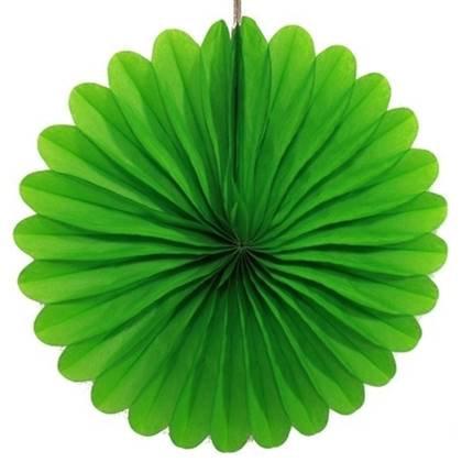 """מניפת נייר 35 ס""""מ צבע ירוק"""