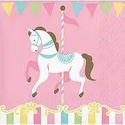 יום הולדת קרוסלה מושלמת! אצלנו תמצאו צלחות קרוסלה, כוסות קרוסלה, מפיות קרוסלה, מפת שולחן קרוסלה ועוד המון דברים שווים!