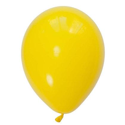 10 בלוני פסטל צהוב