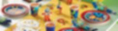 יום הולדת רובוטים מושלמת! אצלנו תמצאו צלחות רובוטים, כוסות רובוטים, מפיות רובוטים, מפת שולחן רובוטים ועוד המון דברים שווים!