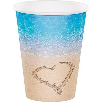 כוסות גדולות ים של אהבה 8 יח'