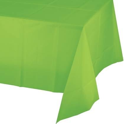 מפת שולחן מניילון בצבע ירוק בהיר