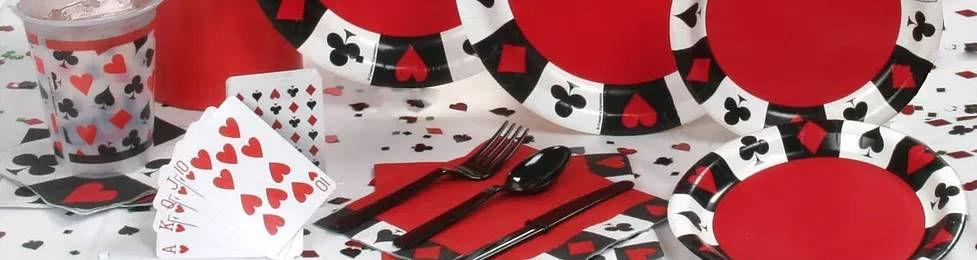 יום הולדת פוקר מושלמת! אצלנו תמצאו צלחות פוקר, כוסות פוקר, מפיות פוקר, מפת שולחן פוקר, אביזרים לימי הולדת, ציוד לימי הולדת