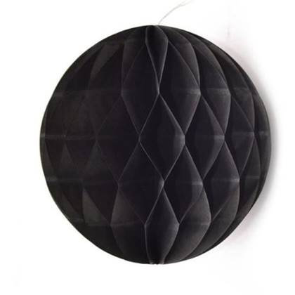 """כדור נייר 30 ס""""מ צבע שחור"""