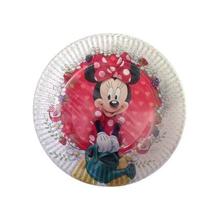 צלחות עוגה קטנות מיני מאוס 8 יח'