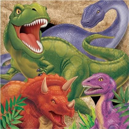 מפיות דינוזאורים 16 יח'