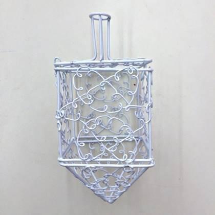 סביבון רשת למילוי צבע לבן