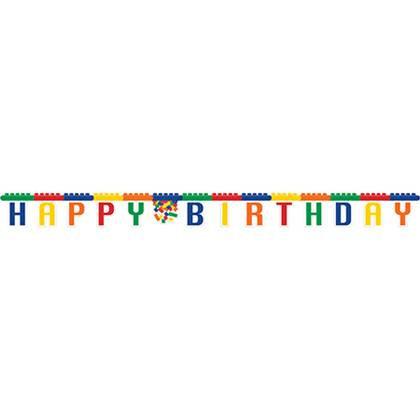 כרזת יום הולדת לגו