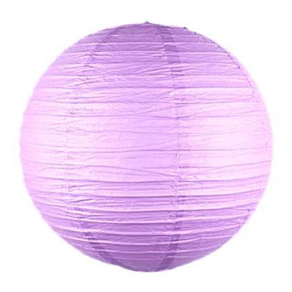 """אהיל נייר קוטר 30 ס""""מ צבע סגול"""
