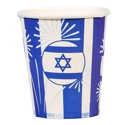 כוסות יום עצמאות שמח 25 יח'