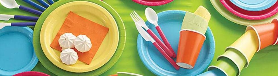 כלים חד פעמיים בשללצבעים וגדלים לאירוח יום הולדת או מסיבהמושלמת! אצלנו תמצאו מגוון רחב של אביזרים למסיבות, אביזרים לימי הולדת, ציוד למסיבות