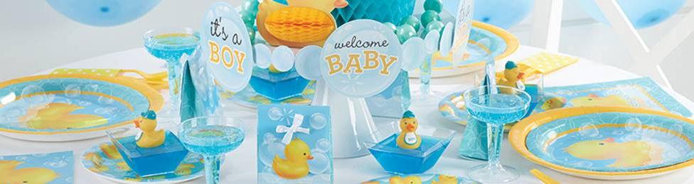 יום הולדת ברווזים מושלמת! אצלנו תמצאו צלחות ברווזונים, כוסות ברווזונים, מפיות ברווזונים, מפת שולחן ברווזונים ועוד המון דברים שווים!