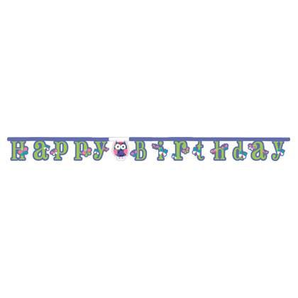 כרזת יום הולדת ינשופים