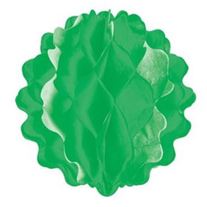 """כדור נייר משונן 20 ס""""מ צבע ירוק"""