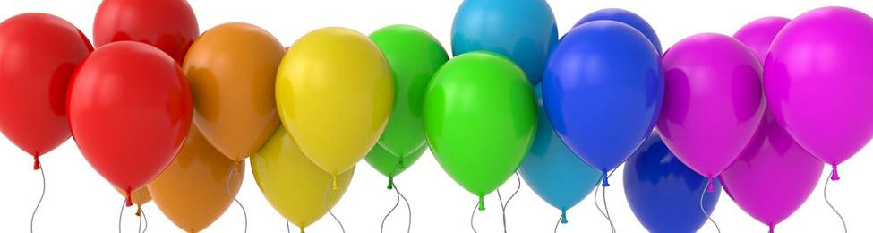 בלונים במגוון צבעים למסיבה מושלמת! אצלנו   שרשראות וגרלנדות, בלונים לפי צבע, בלוני מספר תמצאו אהילי נייר, מניפות נייר, כדורי נייר, פונפוני משי, ועוד המון דברים שווים!