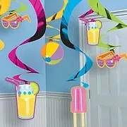קישוטי תלייה במגוון צבעים למסיבה מושלמת! אצלנו תמצאו שרשראות וגרלנדות, בלונים לפי צבע, בלוני מספר תמצאו אהילי נייר, מניפות נייר, כדורי נייר, פונפוני משי, ועוד המון דברים שווים!