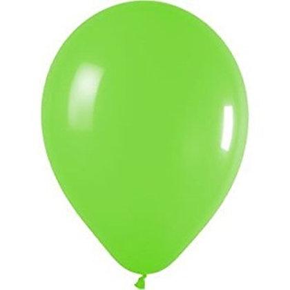 10 בלוני פסטל ירוק בהיר