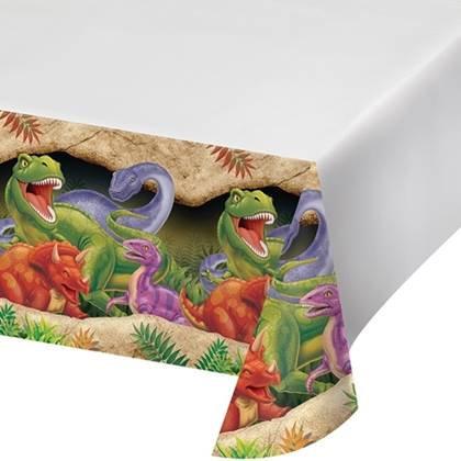 מפת שולחן דינוזאורים