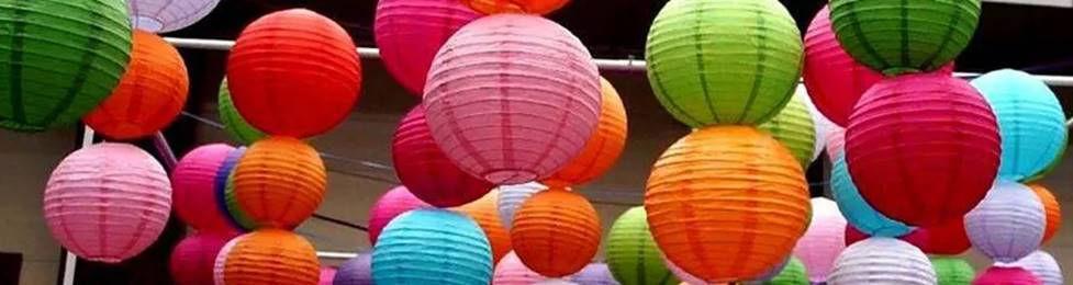 אהילי נייר במגוון צבעים למסיבה מושלמת! אצלנו   שרשראות וגרלנדות, בלונים לפי צבע, בלוני מספר תמצאו אהילי נייר, מניפות נייר, כדורי נייר, פונפוני משי, ועוד המון דברים שווים!