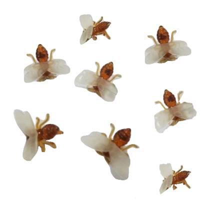 דבורים לעיצוב השולחן 20 יח'