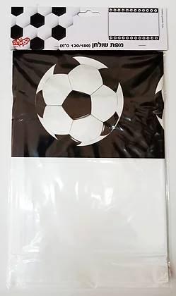 מפת שולחן כדורגל שחור לבן