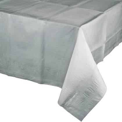מפת שולחן איכותית בצבע אפור