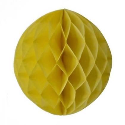 """כדור נייר 30 ס""""מ צבע צהוב"""