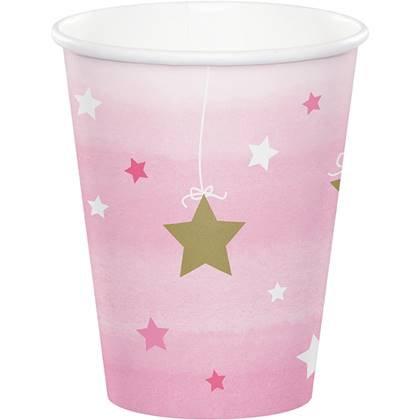 כוסות כוכב קטן מנצנץ 8 יח'