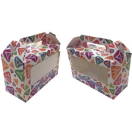 קופסא צבעונית למשלוח מנות