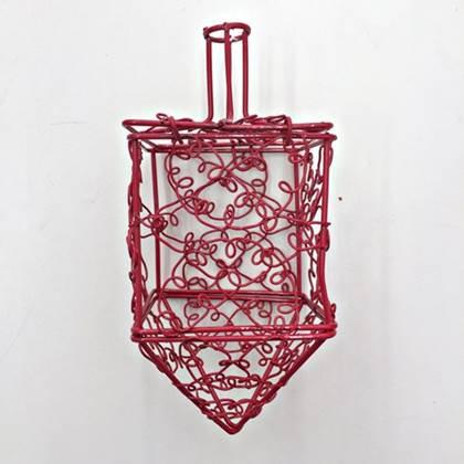סביבון רשת למילוי צבע אדום