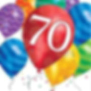 יום הולדת 70 מושלמת! אצלנו תמצאו צלחות יום הולדת 70, כוסות יום הולדת 70, מפיות יום הולדת 70, מפת שולחן יום הולדת 70 ועוד המון דברים שווים!