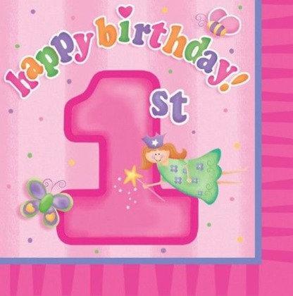 מפיות יום הולדת שנה 16 יח'