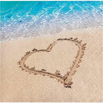 מפיות קטנות ים של אהבה 16 יח'