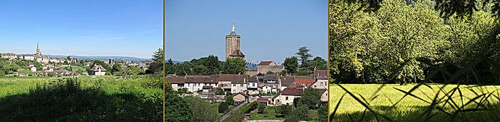 Chambre d'Aut' se trouve dans l'ancienne cité gallo-romaine d'Autun en Saône-et-Loire
