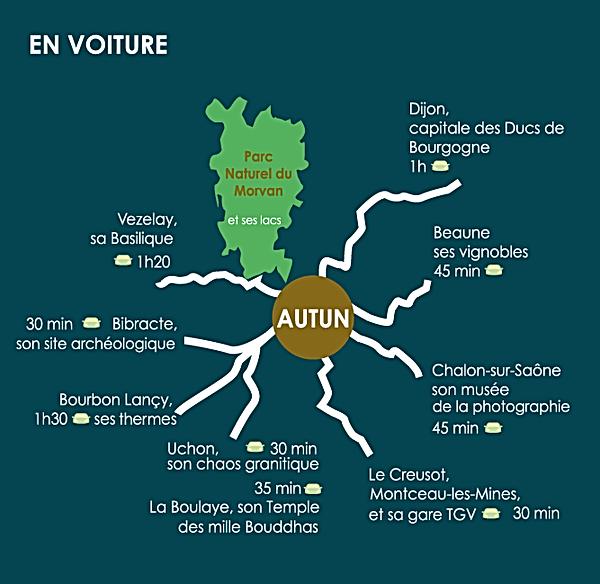 Autun, au coeur de la Bourgogne