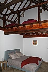 Mezzanine et plafond à la française