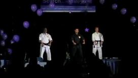 Sensei Tom, Renshi Matt, Sensei Ed Demo at Yahoo!