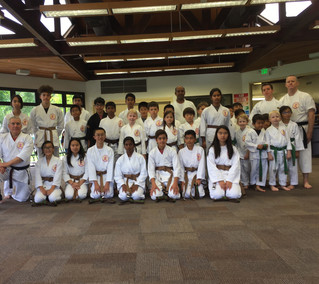 Congratulations to our new brown belts