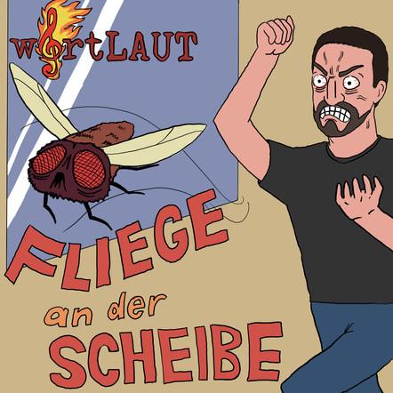 wortLAUT - Fliege an der Scheibe