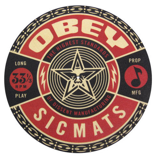 Sic Obey Red Slipmats