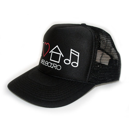 """""""I Love House Music"""" Trucker Hat"""